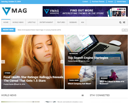 5 Tema Wordpress Gratis dan Keren