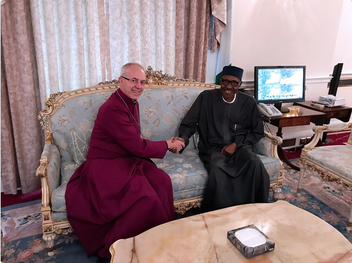 Archbishop-of-Canterbury-visits-buhari-in-second-time