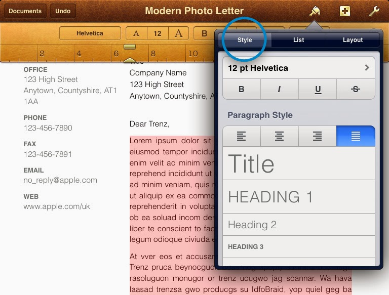 Pages For iPhone/iPad Free Download | iPad Apps Shore