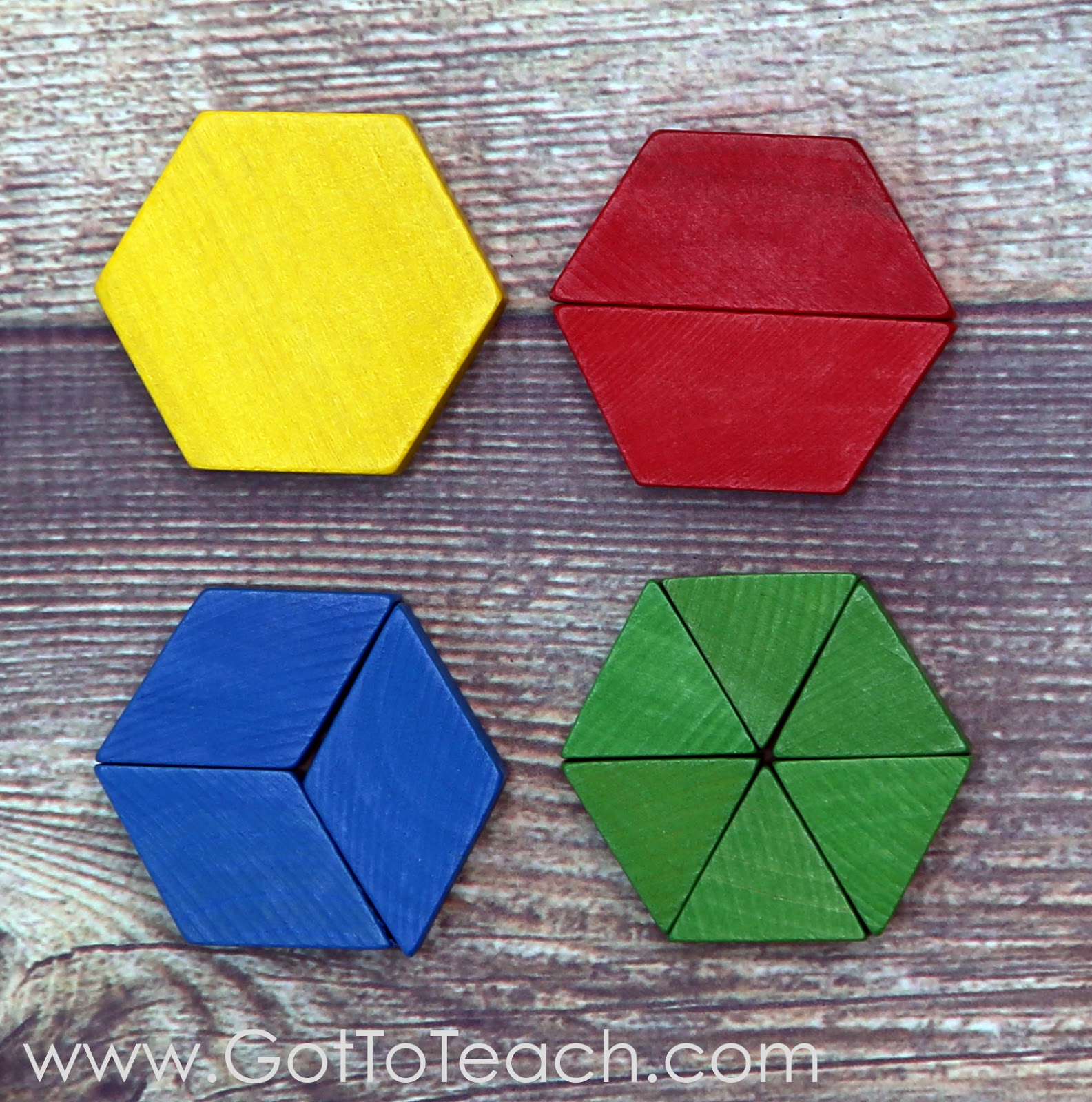 Pattern Block Fractions Magnificent Decorating