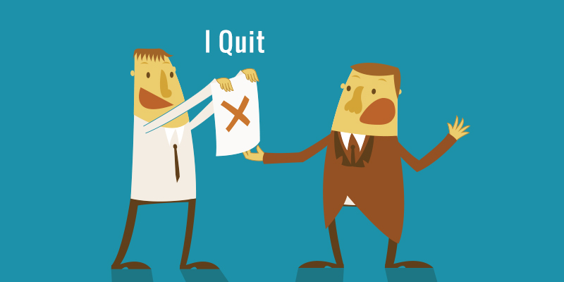 intention to quit the job for Learn to write a formal quit job letter use the template sample to frame a personalized effective draft to inform your company that you are leaving the job.