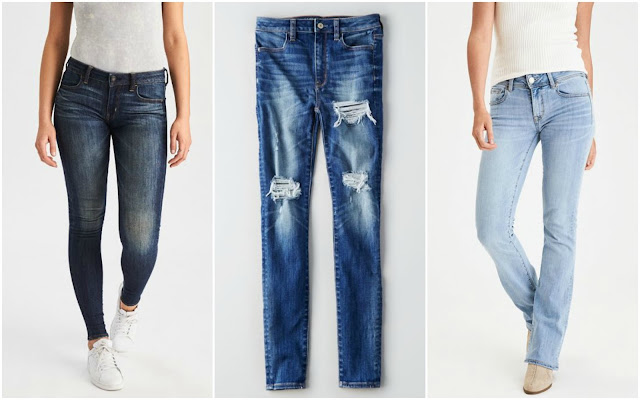 American Eagle: Buy 1 Get 1 50% Off Jeans + Free Shipping!