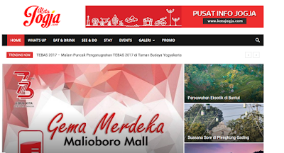 Website portal Kota Jogja