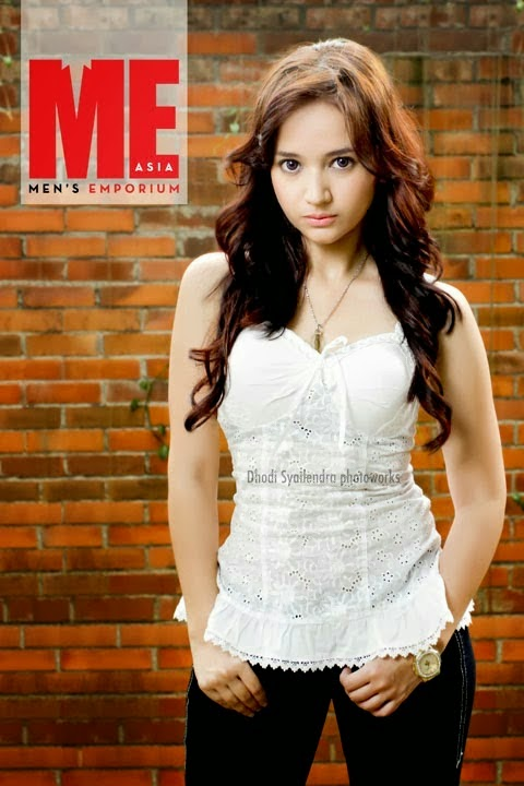 Angelica Faustina on Cover for ME Asia Magazine