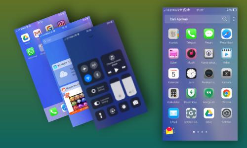 cara mengubah tampilan hp oppo menjadi atau seperti iphone
