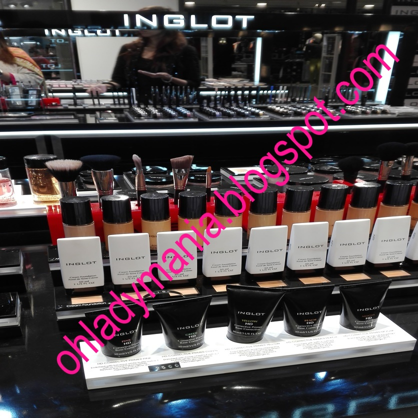 Oh, Lady Mania!: Inglot Make-up Makes Its Way To Karachi