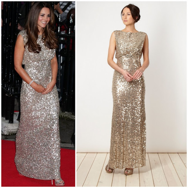 Catherine , Duchess of Cambridge in Jenny Packham