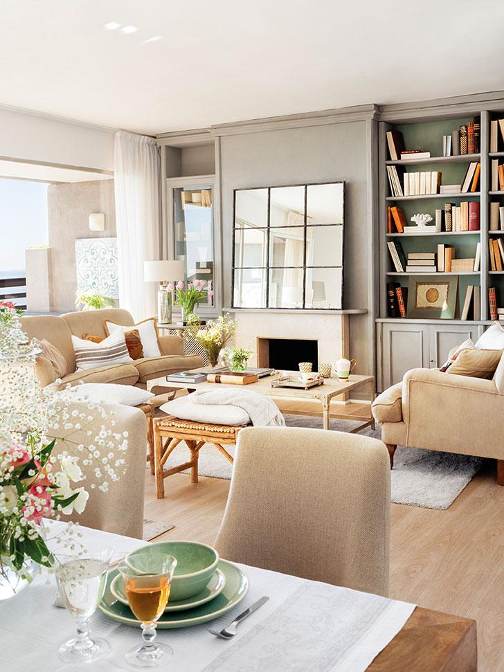 Casa acolhedora decorada em cores quentes decora o e ideias - Cuca arraut ...