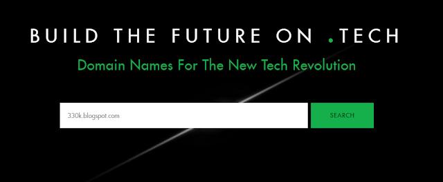 Cara Mudah Mendapatkan Domain .tech [Gratis] Terbaru - 30KBPS BLOG