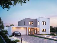 Moderne Wohnhäuser Bauhausstil