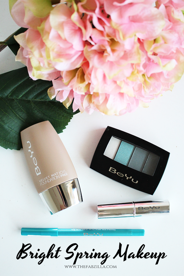 bright spring makeup, beyu cosmetics review swatch, spring makeup trends