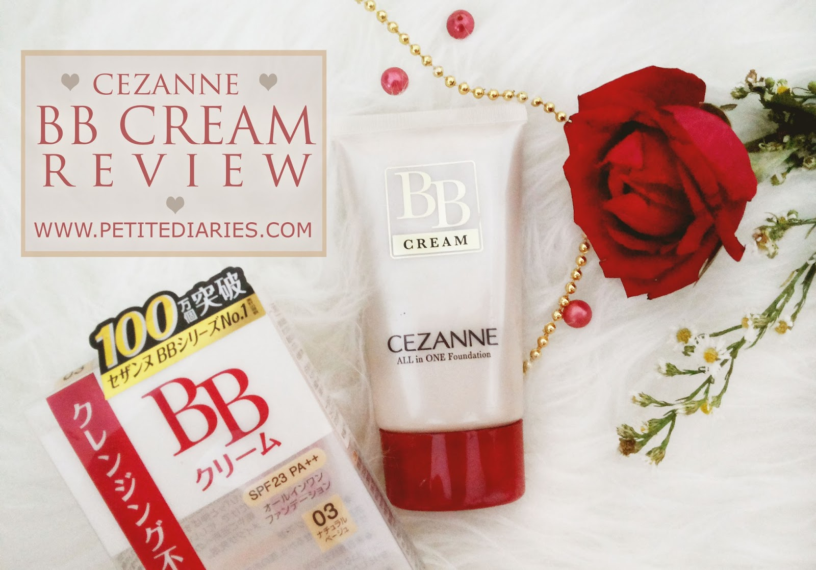 review cezanne japanese bb cream