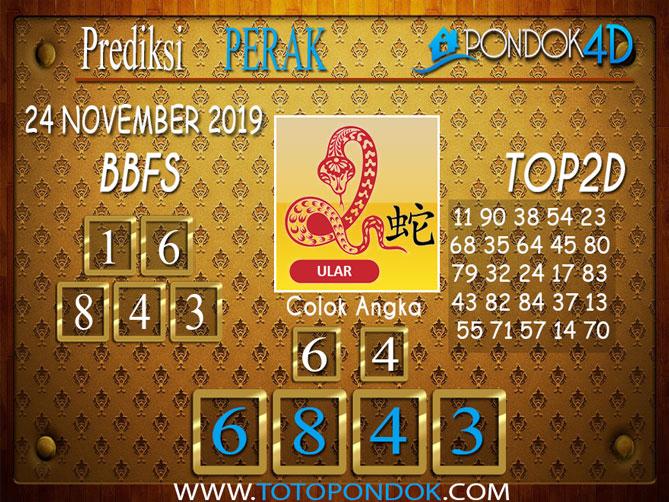 Prediksi Togel PERAK PONDOK4D 24 NOVEMBER 2019