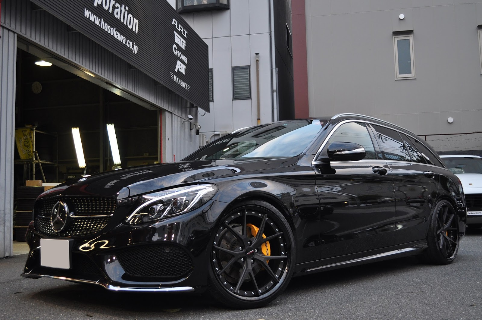 Mercedes benz s205 on 20 hyperforged hf lc5 benztuning for Mercedes benz tuner