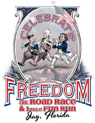 2017 Celebrate Freedom 5K logo