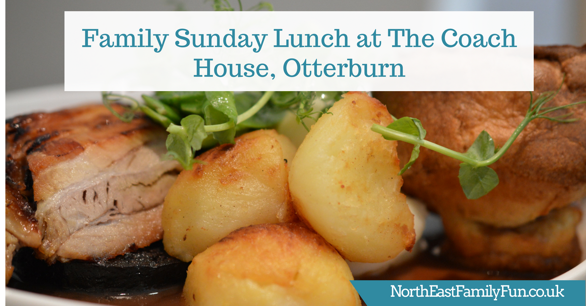Sunday Lunch at The Coach House Otterburn (with kids)