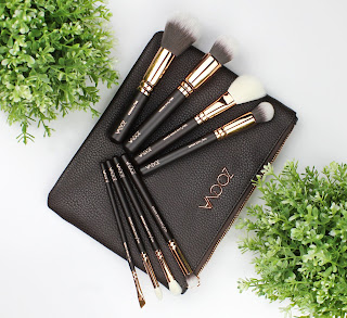 zoeva rose golden luxury brush set review