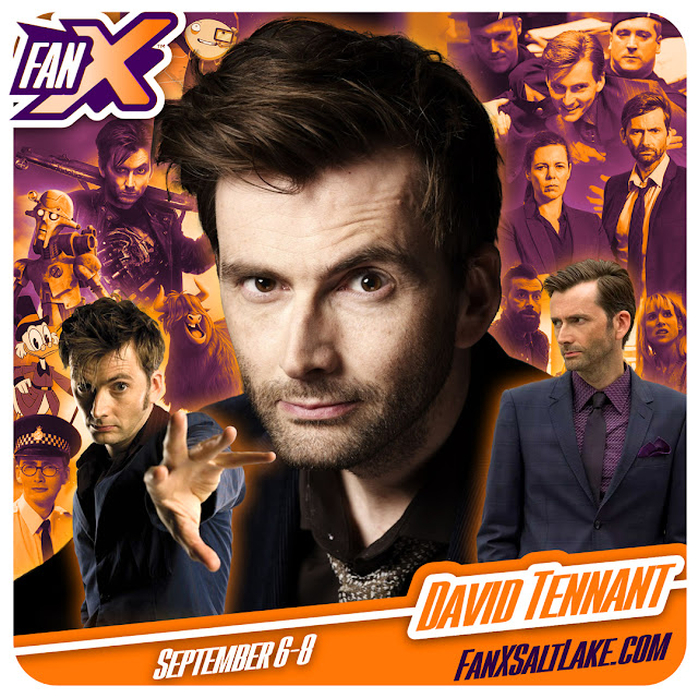 David Tennant - FanX Salt Lake Comic Convention