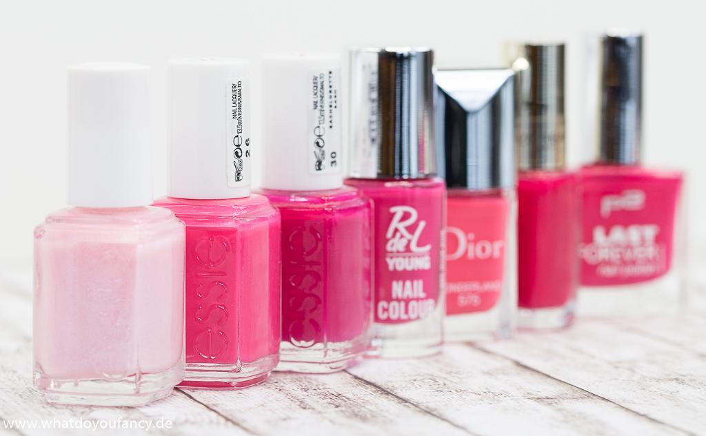 7 shades of... Pink! - Die Nagellack-Edition
