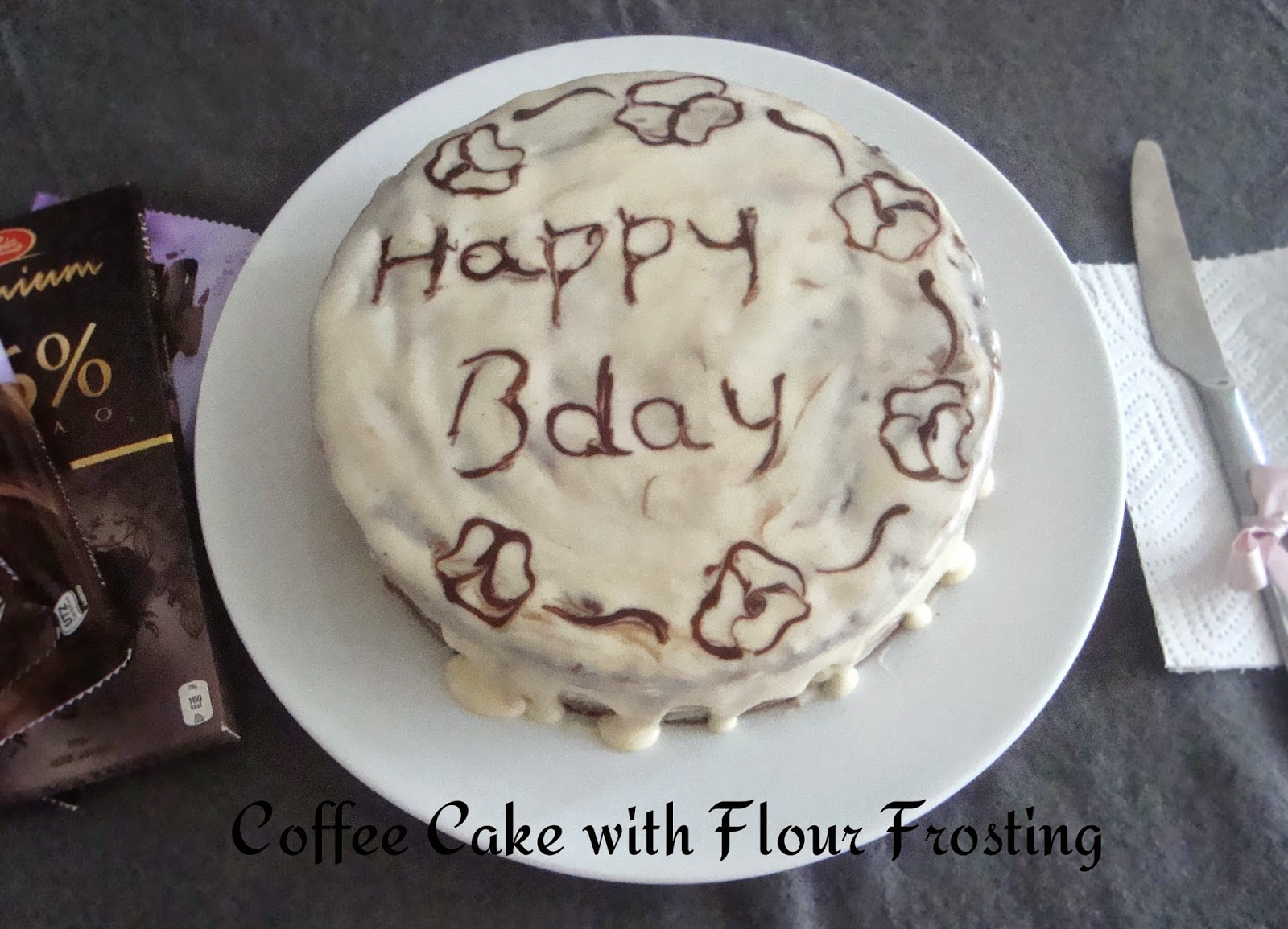 Cake Icing Recipes In Marathi: Poorni's Cookbook: Coffee Cake With Flour Frosting