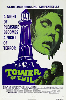The first teen slasher: Tower Of Evil (1972)