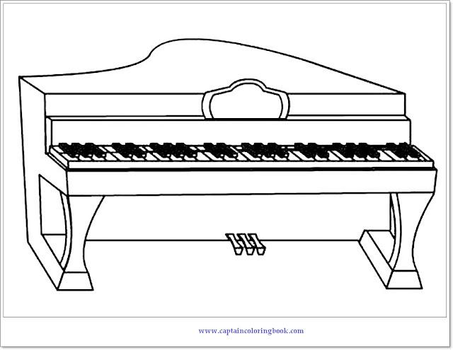 Piano Coloring