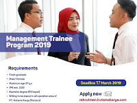 Lowongan Kerja PT Hutama Karya (Persero) - Deadline : 17 Maret 2019
