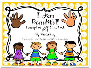 https://www.teacherspayteachers.com/Product/I-Am-Beautiful-Concept-of-Self-Class-Book-Pack-152768