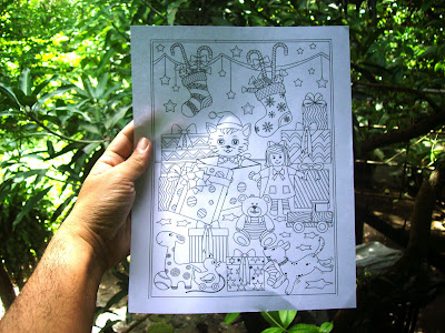 christmas coloring pages by ricldp