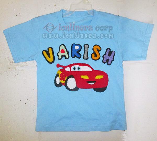 Kaos / Baju Flanel Anak Karakter Kartun Cars Mcqueen