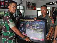Acara Lepas Pindah Satuan Anggota Yonif 407/PK Berjalan Lancar