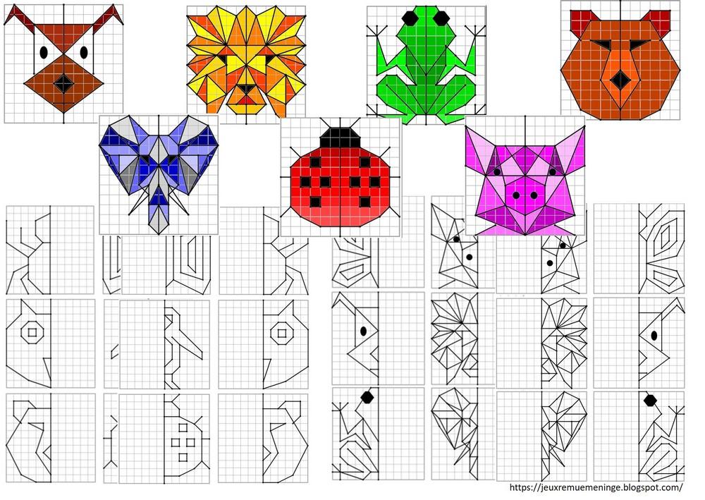 Carte Au Tresor Geometrie.Remue Meninge