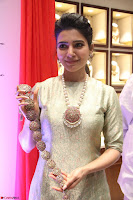 Samantha Ruth Prabhu in Cream Suit at Launch of NAC Jewelles Antique Exhibition 2.8.17 ~  Exclusive Celebrities Galleries 046.jpg