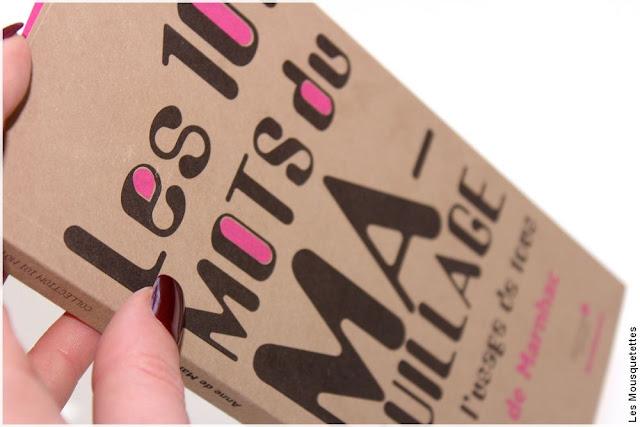 Les 101 mots du maquillage à l'usage de tous - Anne de Marnhac - Archibooks - Blog beauté