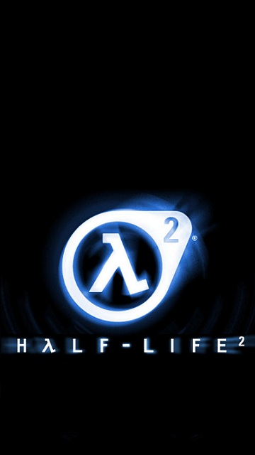 360x640wallpapers: Half life logo 360x640 wallpapers