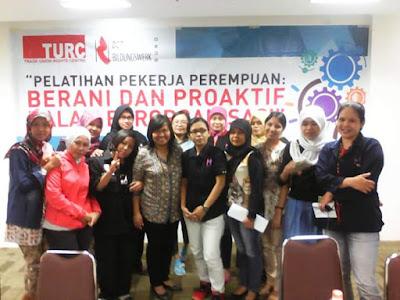 Buruh Perempuan Harus Berani dan Proaktif dalam Berorganisasi