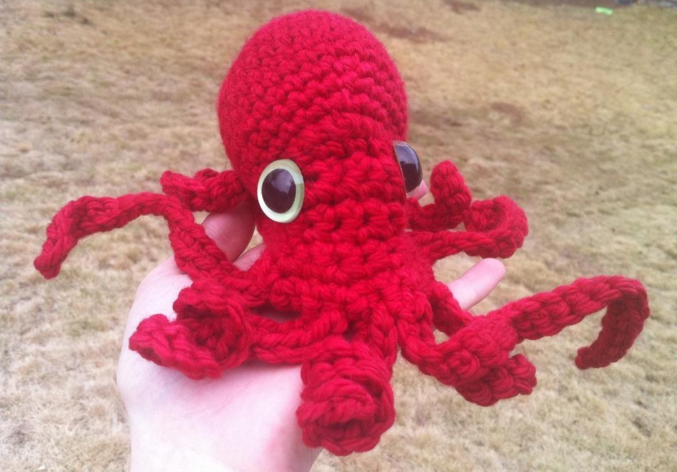 Spicy Pinecone Crochet Octopus And New Baby Blankets