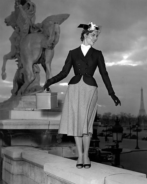 Style Inspriration Vintage Black And White Fashion Photography Georges Dambier Cool Chic