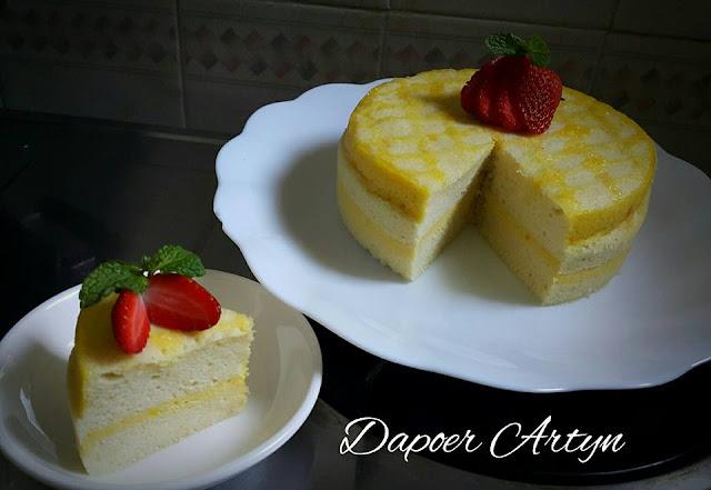 Resep Sponge Cake Custard Kukus Yang Enak Banget