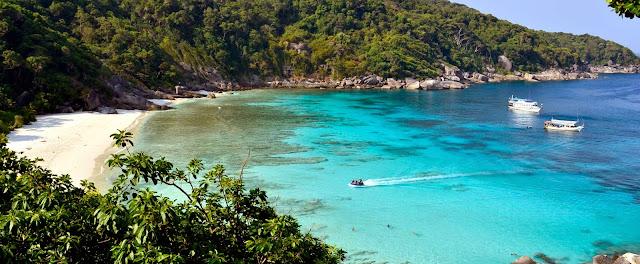 Le Parc National Marin des iles Similan - Plage