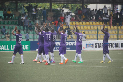 MFM FC after victory over Wikki Tourists