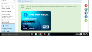 Virtual Debit card kya hota hain? aur kaise create kare?