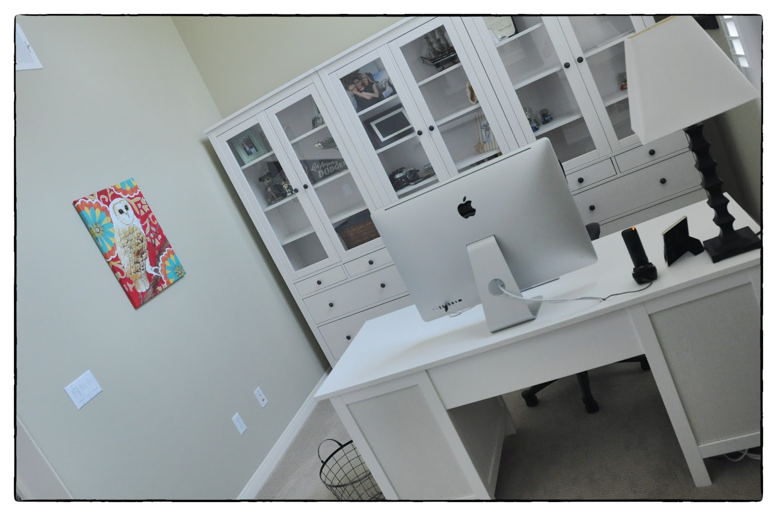 IKEA Hemnes Home Office Desk