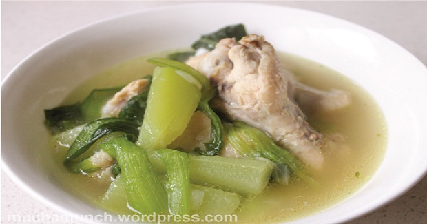 Chicken Tinola (Chicken Soup With Ginger Recipe)