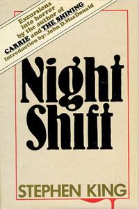 Portada original de El umbral de la noche, de Stephen King