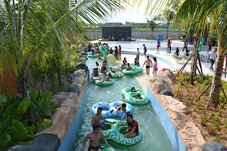 Paradis-Q Water Park, Surganya Wahana Air Di Kalimantan Barat