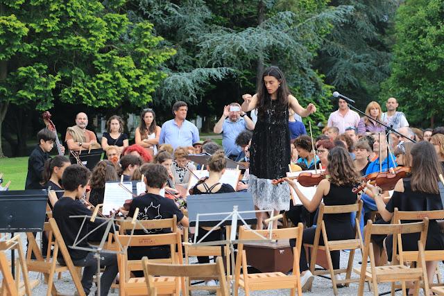 Concierto del Día Europeo de la Música en la Finca Munoa
