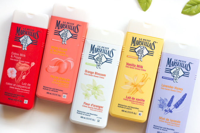 Le Petit Marseillais Shower Cremes and Shower Gel Review
