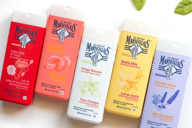 Le Petit Marseillais Shower Cremes and Shower Gel Review