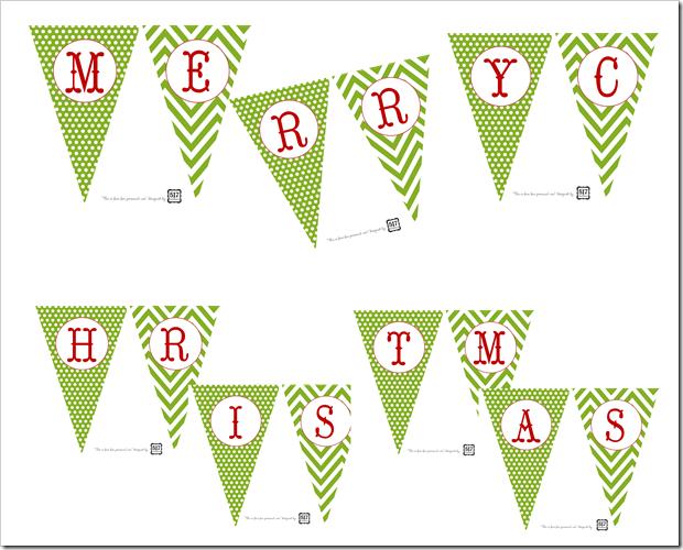 Printable Christmas Banners : Behind Mytutorlist.com
